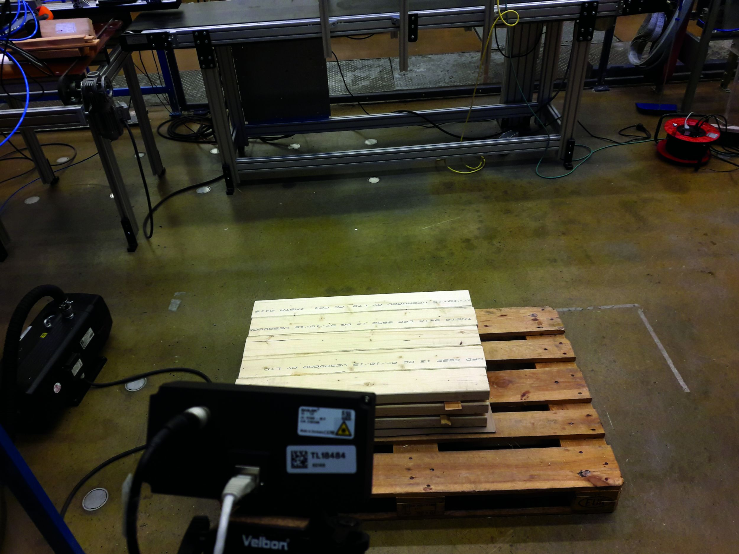 Time-of-Flight in der Holzindustrie