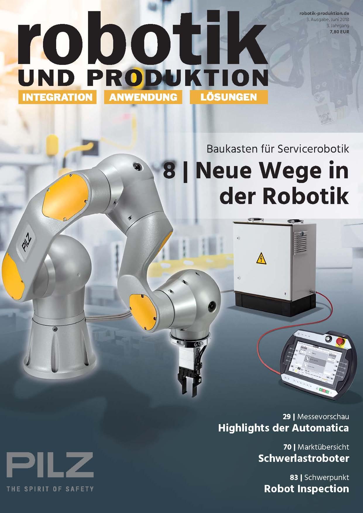 Juni-Ausgabe der Robotik und Produktion online