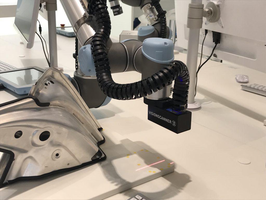 Der Visionscanner 3 von EngRoTec ist in Verbindung mit der Software Visionelements 3 speziell zur 6D-Roboterführung ausgelegt. (Bild: TeDo Verlag GmbH)