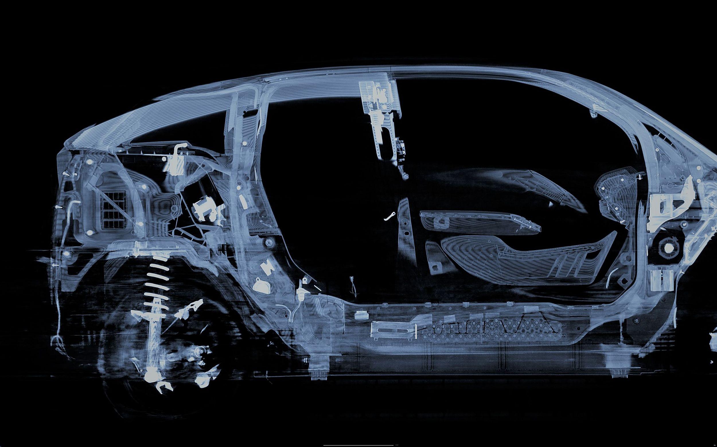 BMW Group nutzt Röntgenmessungen für Analyse
