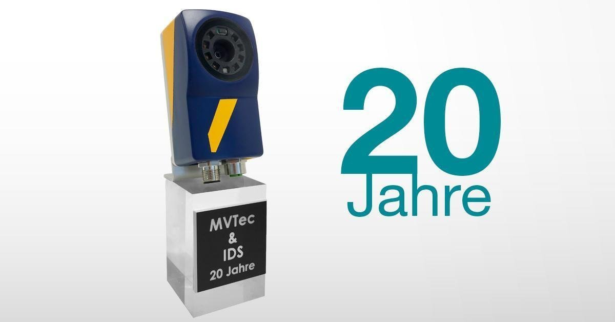 20 Jahre Kooperation zwischen IDS und MVTec