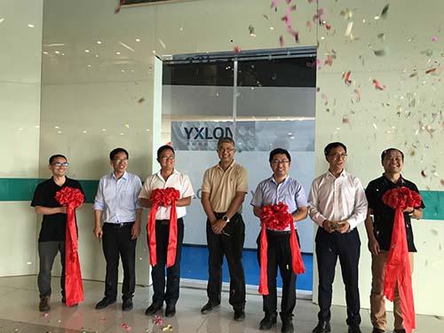 Yxlon China bezieht neue Räume