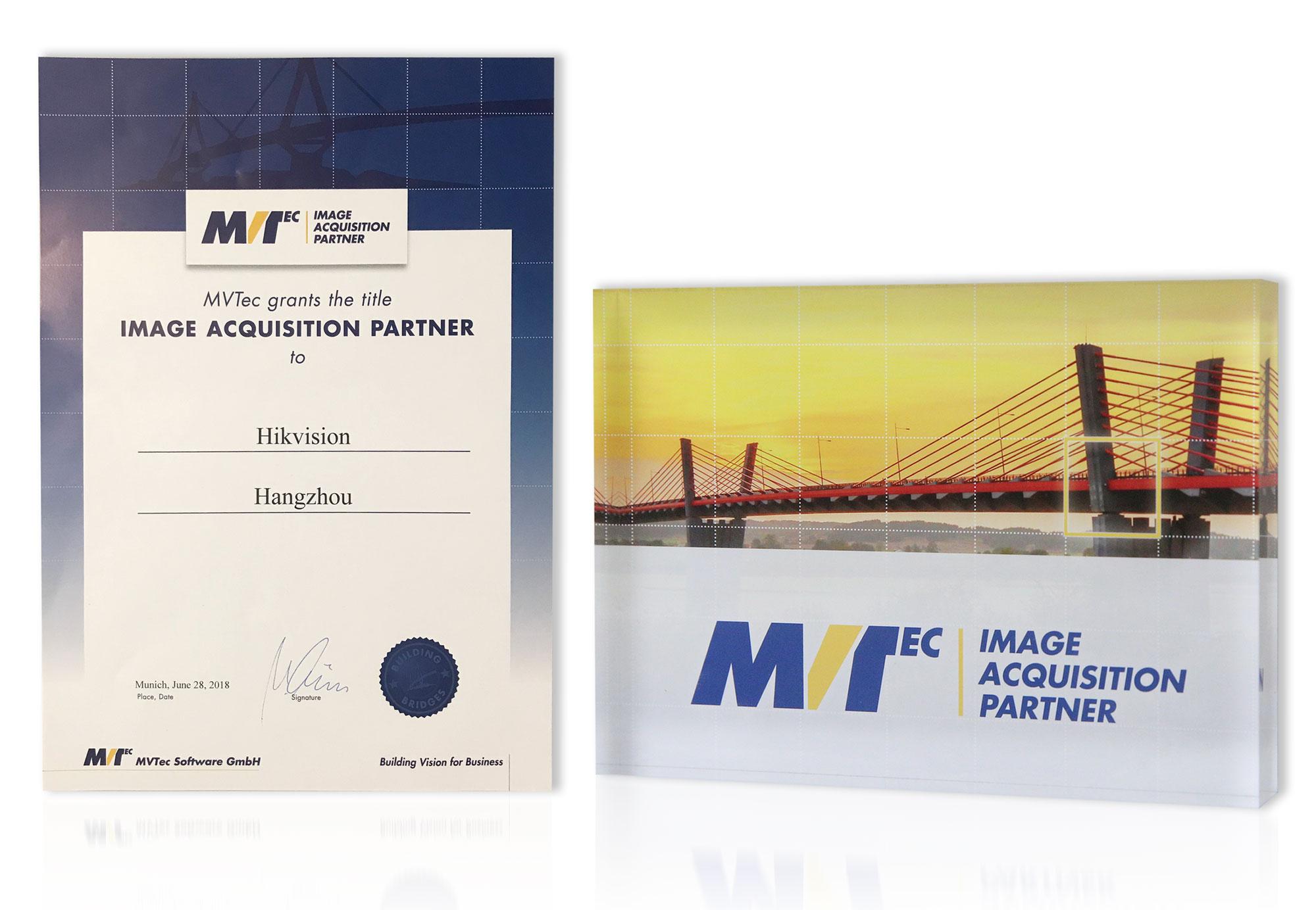 Partnerschaft zwischen Hikvision und MVTec