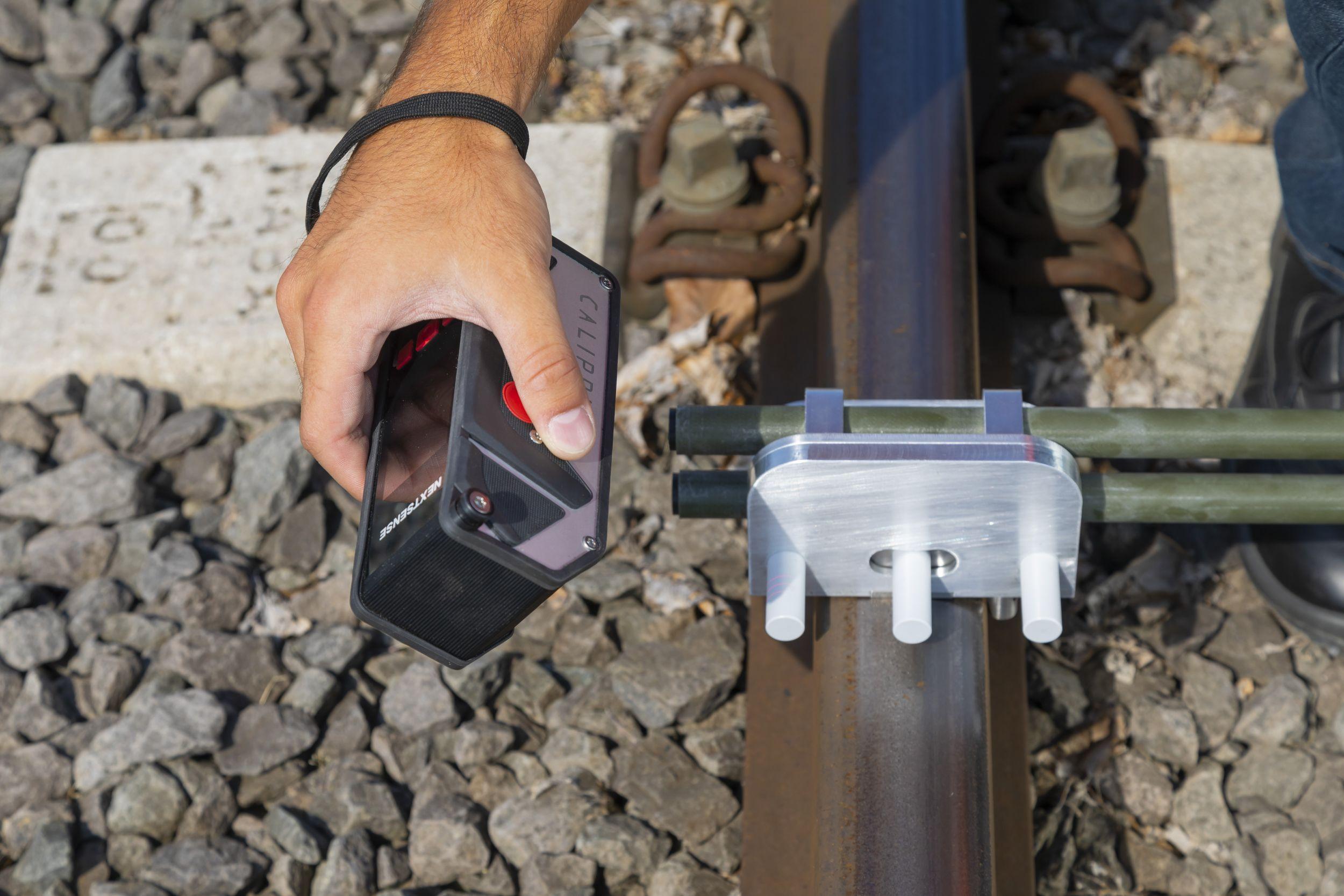 Schienengeometrie-Messung