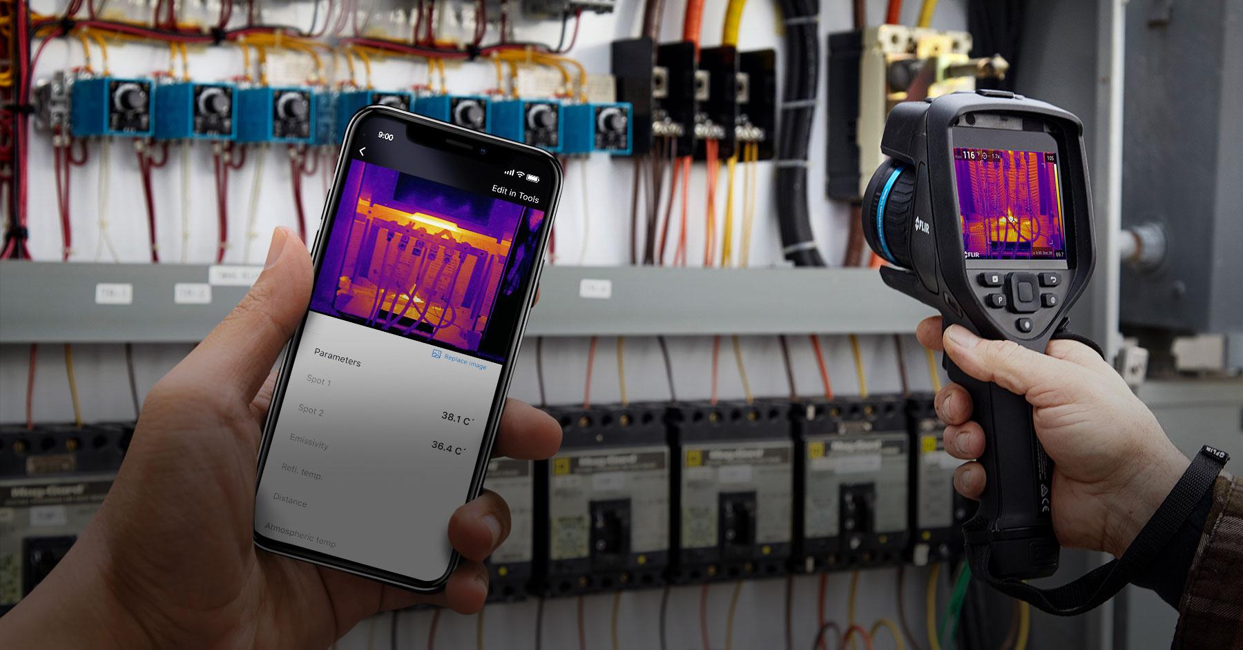 App für Thermografiemanagement