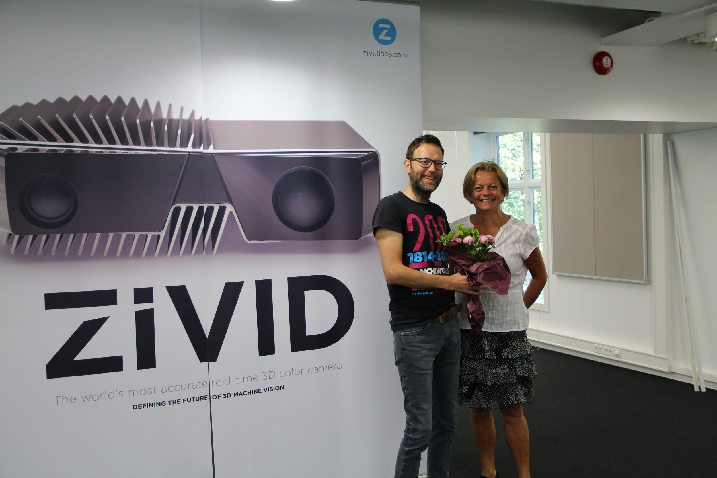 Zivid mit norwegischem Innovation Award ausgezeichnet