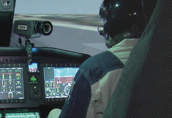 Stresstest für Hubschrauberpiloten