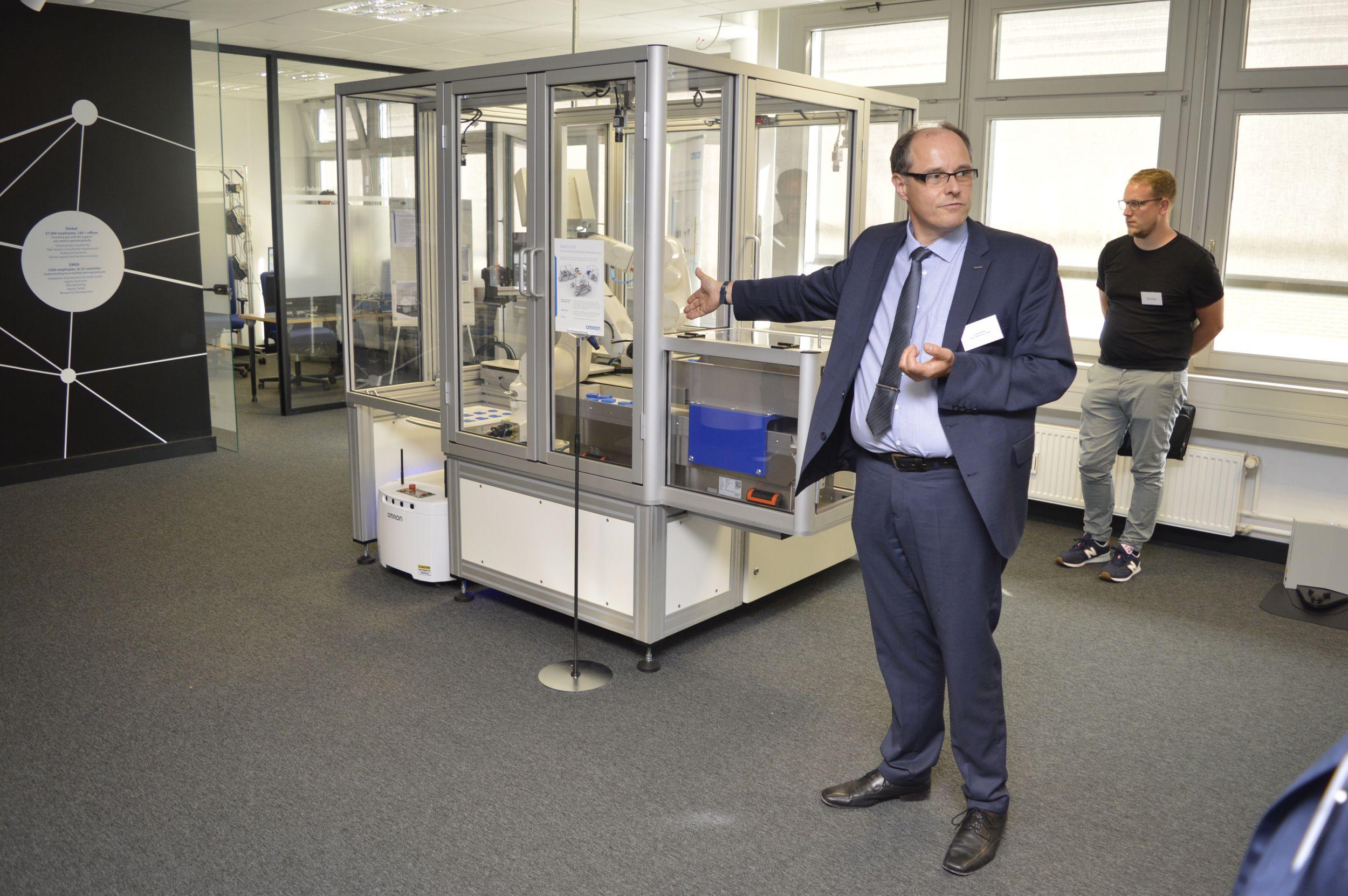 Omron eröffnet Innovation Center