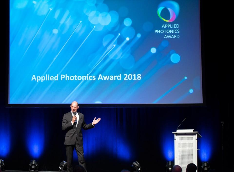 Verleihung Applied Photonics Award 2018