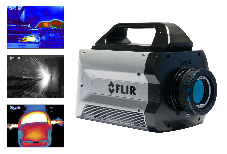 Highspeed LWIR-Wärmebildkamera