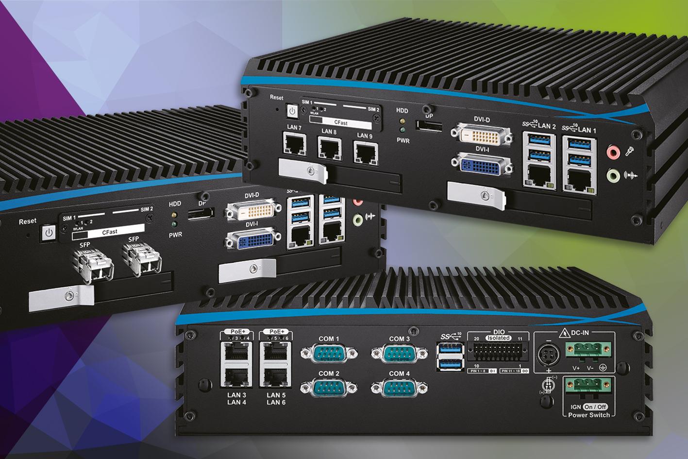 Embedded-PC mit 10G-Datenübertragung