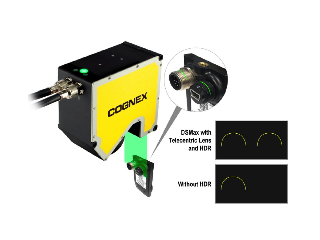 3D-Laser-Profilsensor mit HDR-Funktion