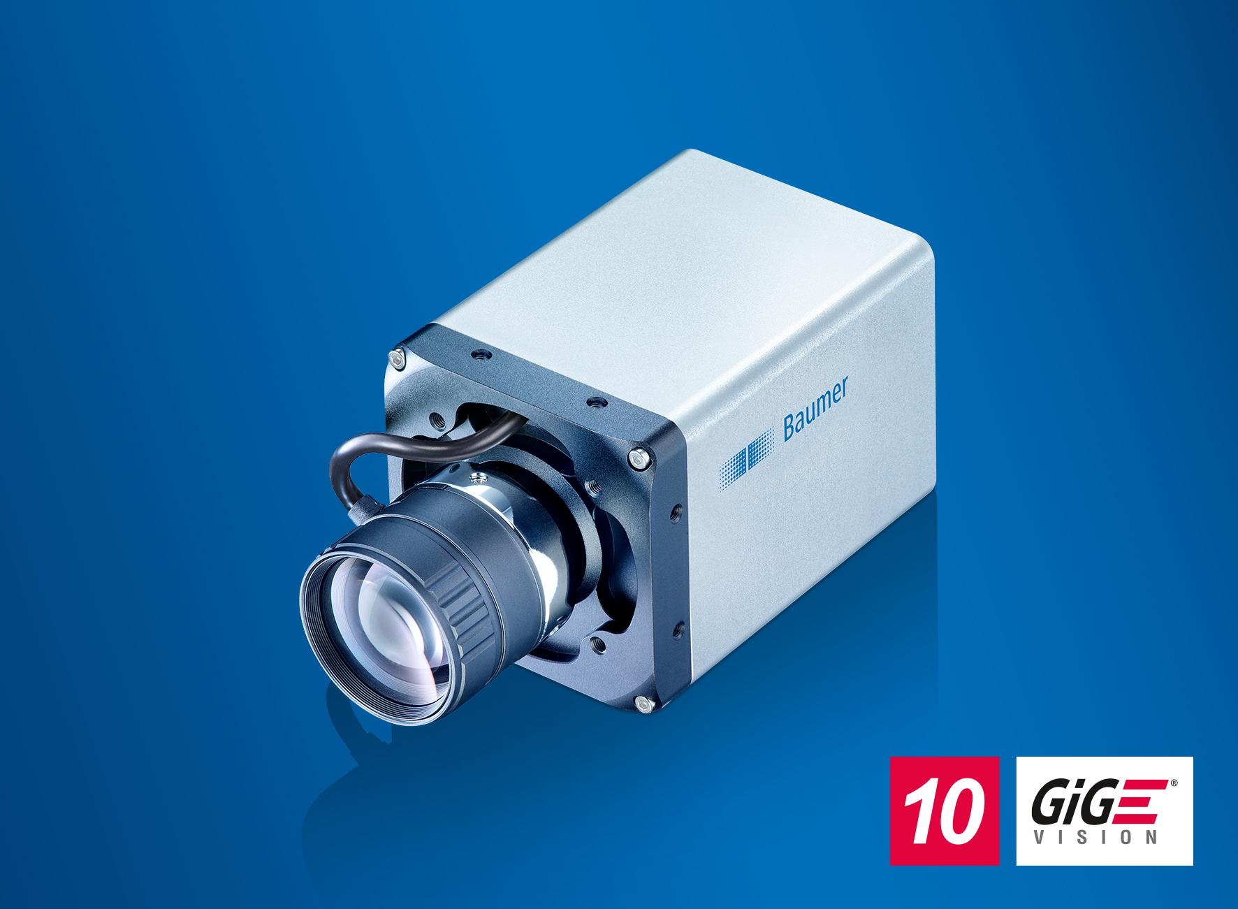 10GigE-Kamera mit Liquid-Lens-Unterstützung