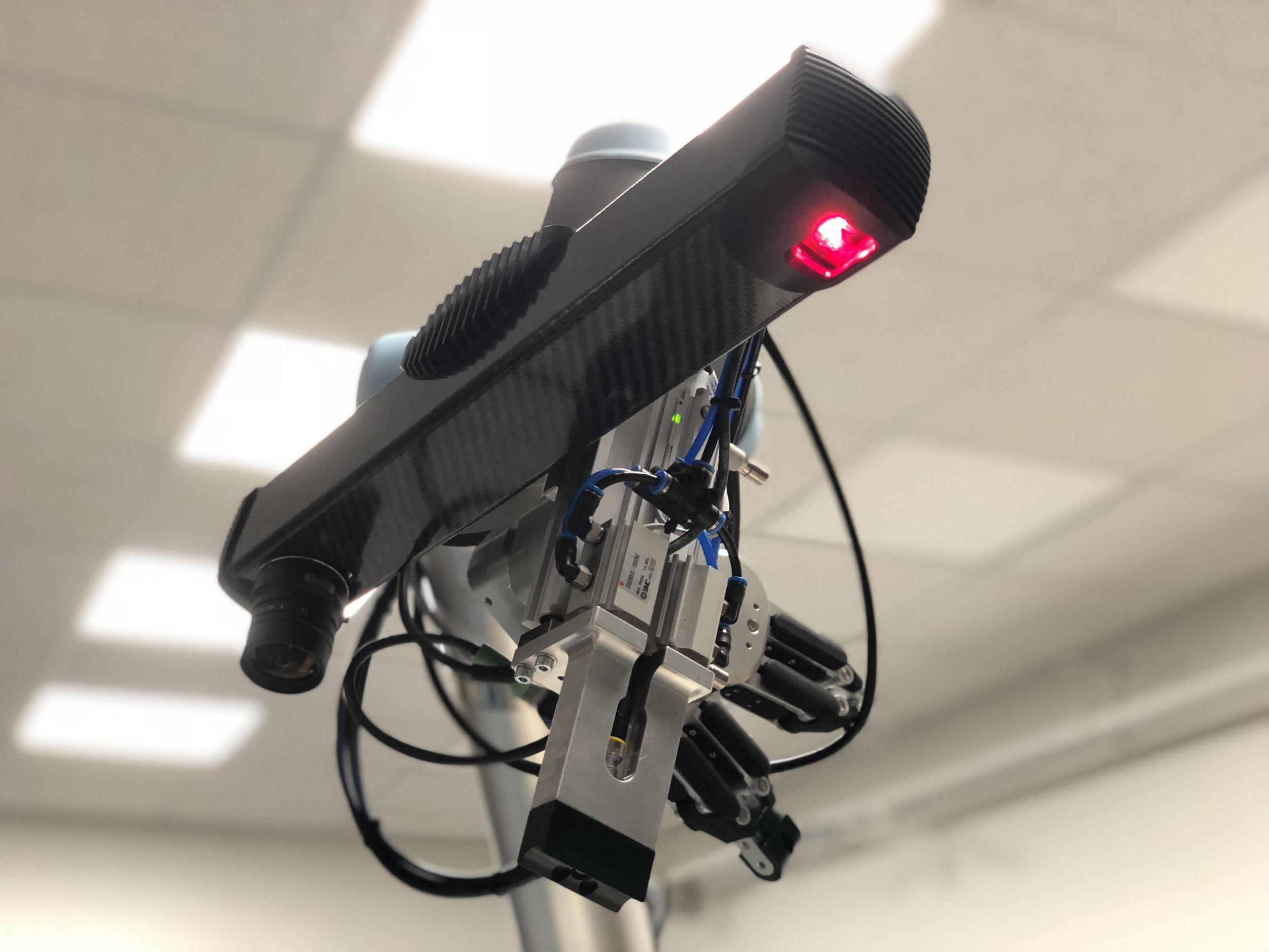 Schnelle und hochauflösende 3D-Kamera