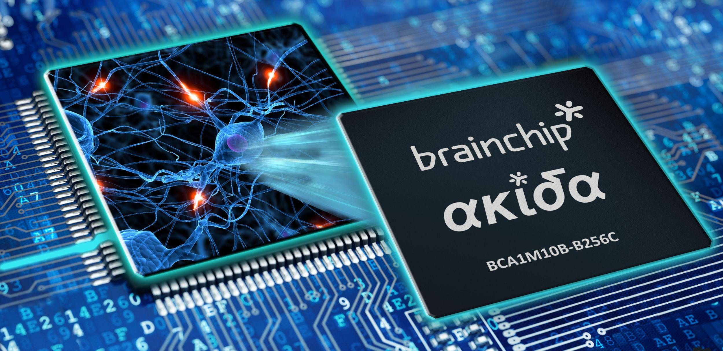 Jeder Akida NSoC weist 1,2Mio. Neuronen und 10Mrd. Synapsen auf, was eine 100-mal bessere Effizienz mit sich bringt, als bei neuromorphen Testchips von Intel und IBM. Der NSoC wurde für den Einsatz als eigenständiger Embedded-Beschleuniger oder Co-Prozessor entwickelt. (Bild: BrainChip Holdings Ltd.)