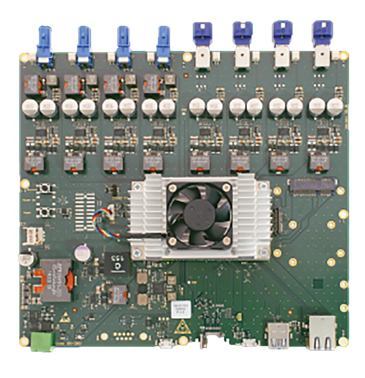Bild 2   Multi-ToF-Hub mit Nvidia Jetson TX2 Modul. (Bild: Becom Systems GmbH)