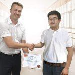 Vision & Control findet Partner in China