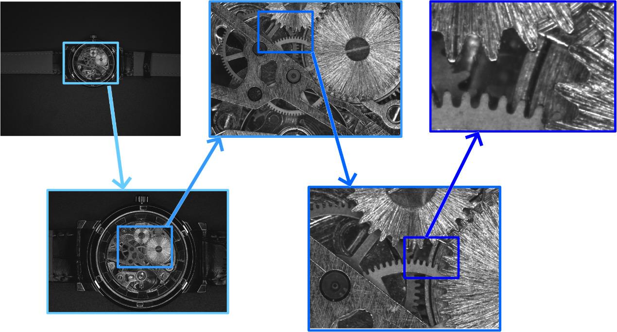 TFT-LCD 4K-Inspektion von Flachbildschirmen mit 151MP-Kamera