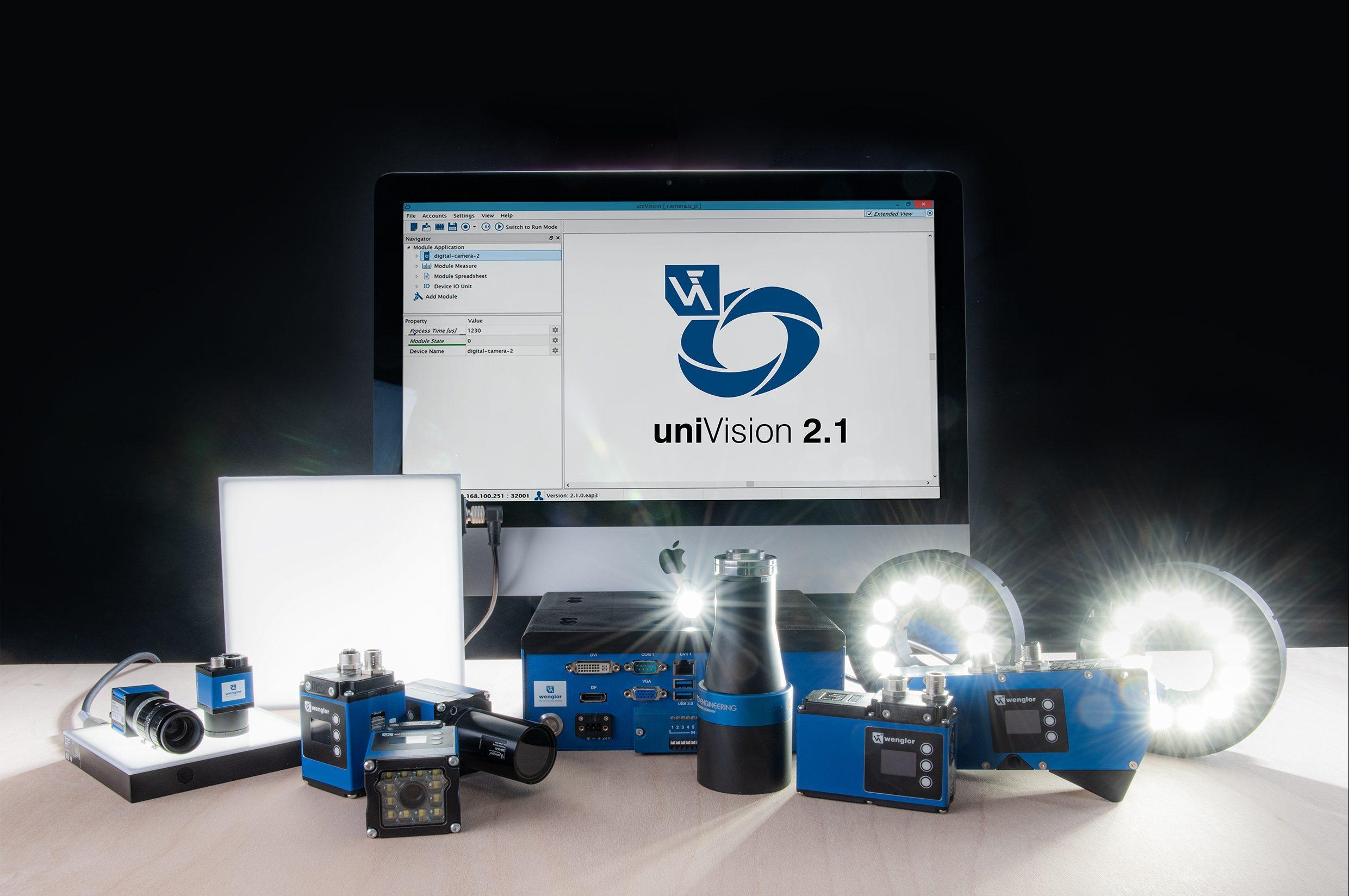 Eine Software für 2D- und 3D-Vision
