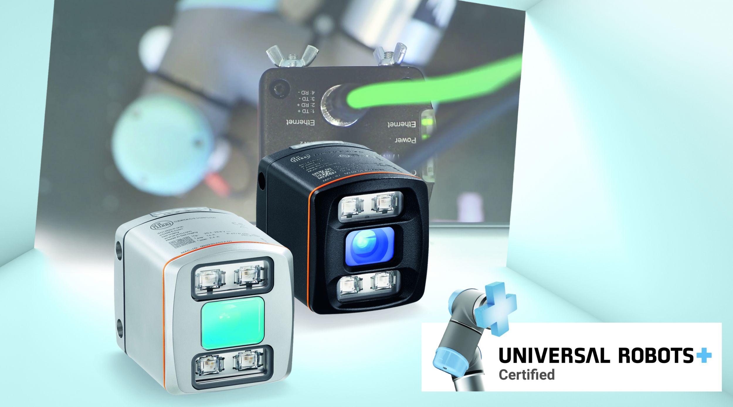 Das Danish Technological Institute (DTI) hat zusammen mit Ifm das Software-Plugin URCap für Universal Robots entwickelt, das die direkte Kommunikation des Vision Sensors O3D mit der Robotersteuerung ermöglicht. (Bild: IFM Electronic GmbH)