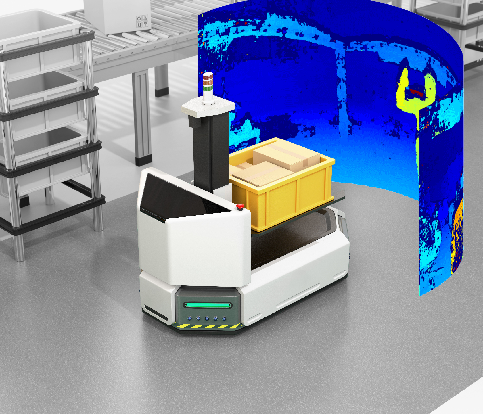 Neuartige 3D-Kamera mit 180° Öffnungswinkel