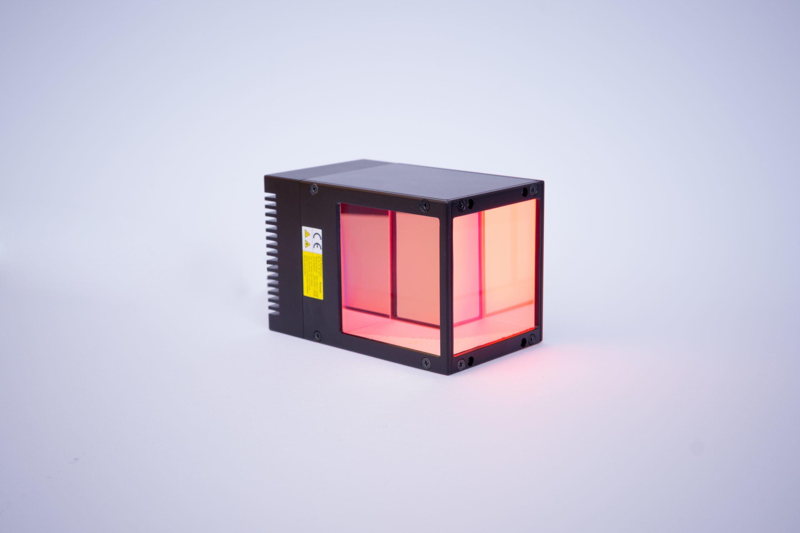 Umgelenkte Koaxialbeleuchtung