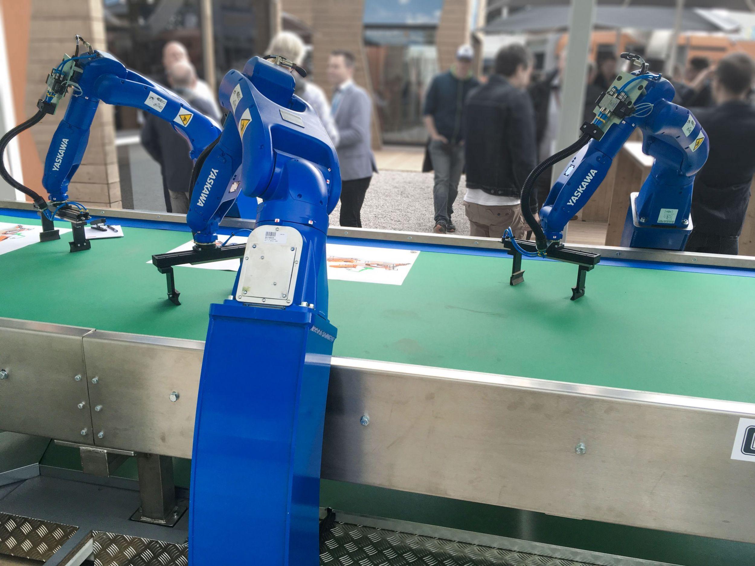 Roboterbasierte Abfallsortierung mittels HSI