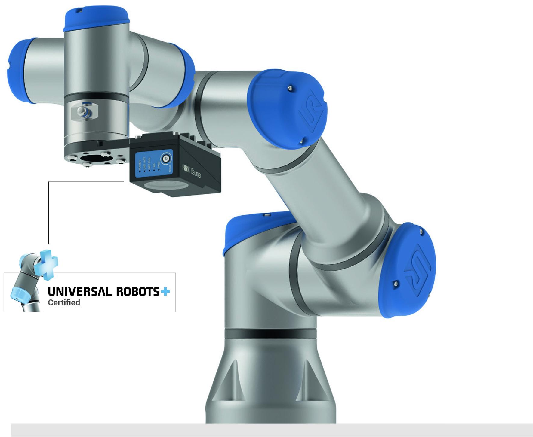 Automatischer Koordinatenabgleich Cobot und Vision-Sensor