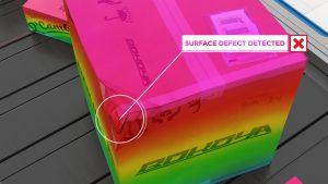 Der 3D-Profilsensor Gocator 2490 erkennt Defekte wie Einstiche, Risse, Dellen und Falten an Paketen und ermöglicht so eine Echtzeit-Defekterkennung zur Kennzeichnung beschädigter Pakete. (Bild: LMI Technologies GmbH)