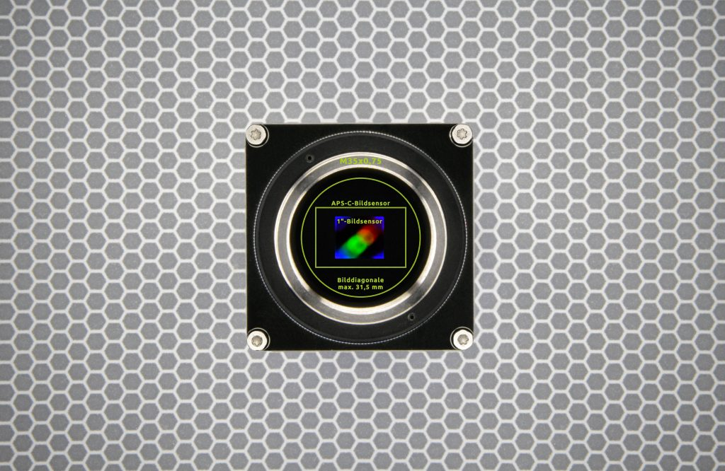 Der Objektivanschluss TFL-Mount ist die Reaktion auf immer größer werdende Bildsensoren mit immer mehr Pixeln.  (Bild: Evotron GmbH & Co. KG)