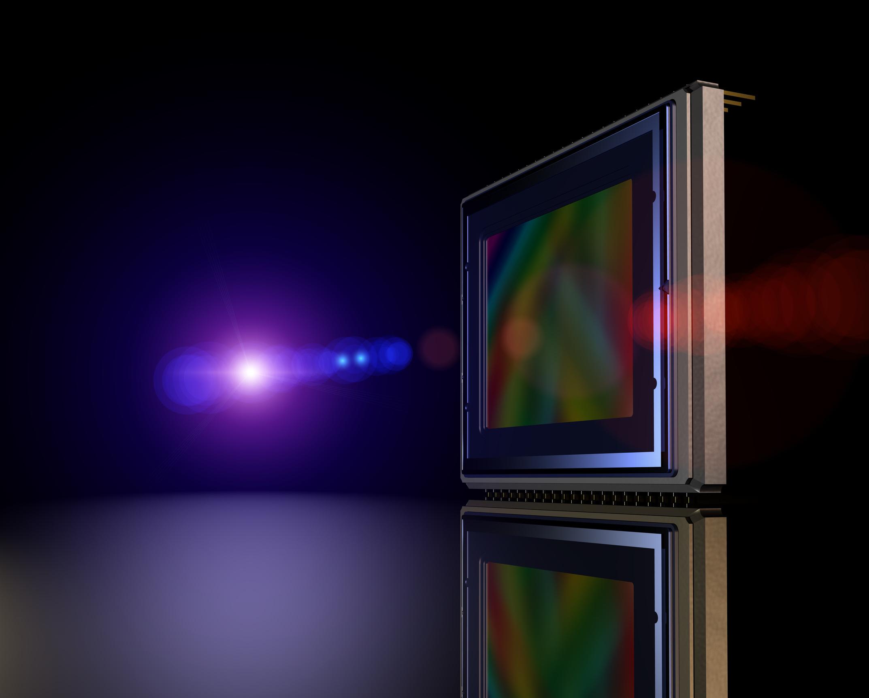 Image Sensoren verarbeiten sichtbaren und SWIR-Bereich