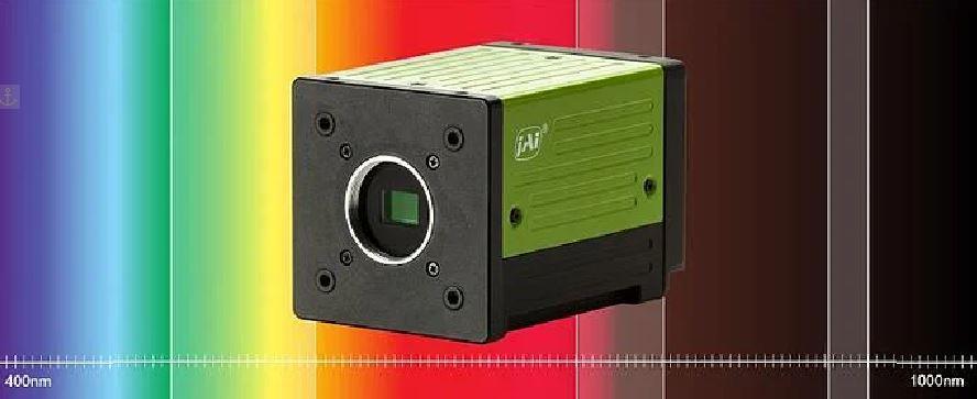 Customized multispectral area scan cameras