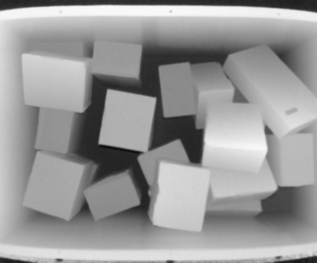 Intensitäts- und Tiefenwerte werden in dem 3D-Snapshot-Sensor Visionary-T Mini berechnet und mit einer frequenz von bis zu 30Hz ausgegeben. Der ToF Imager hat eine Auflösung von 512x424 Pixel. (Bild: Sick AG)