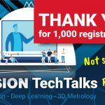 Über 1.000 Anmeldungen für inVISION TechTalks