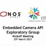 Kick-Off Meeting für Embedded Vision Standards