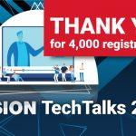 Über 4.000 Anmeldungen für inVISION TechTalks