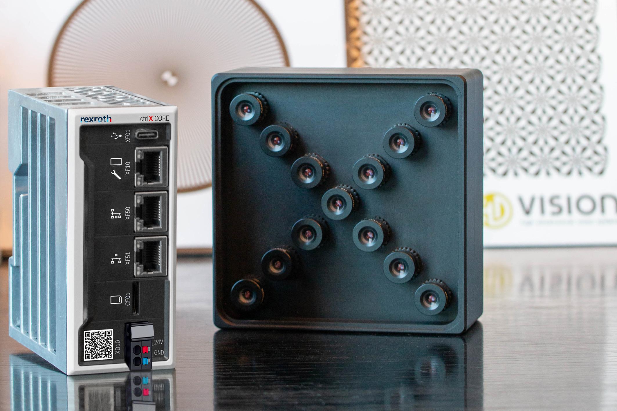 Kooperation Bosch Rexroth und HD Vision Systems