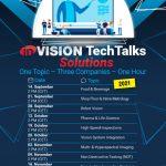 Re-Start der inVISION TechTalks ab September