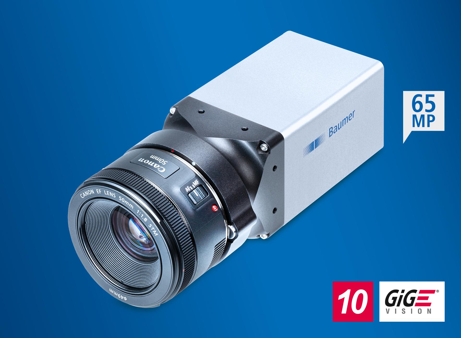 65MP-Kamera für Canon EF-Objektive