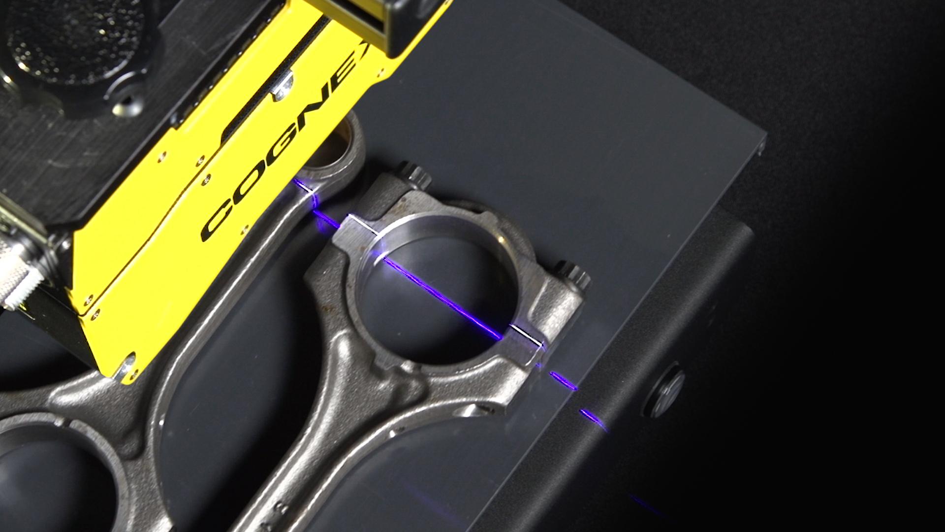 3D-Bildverarbeitung mit Speckle-freiem, blauem Laser