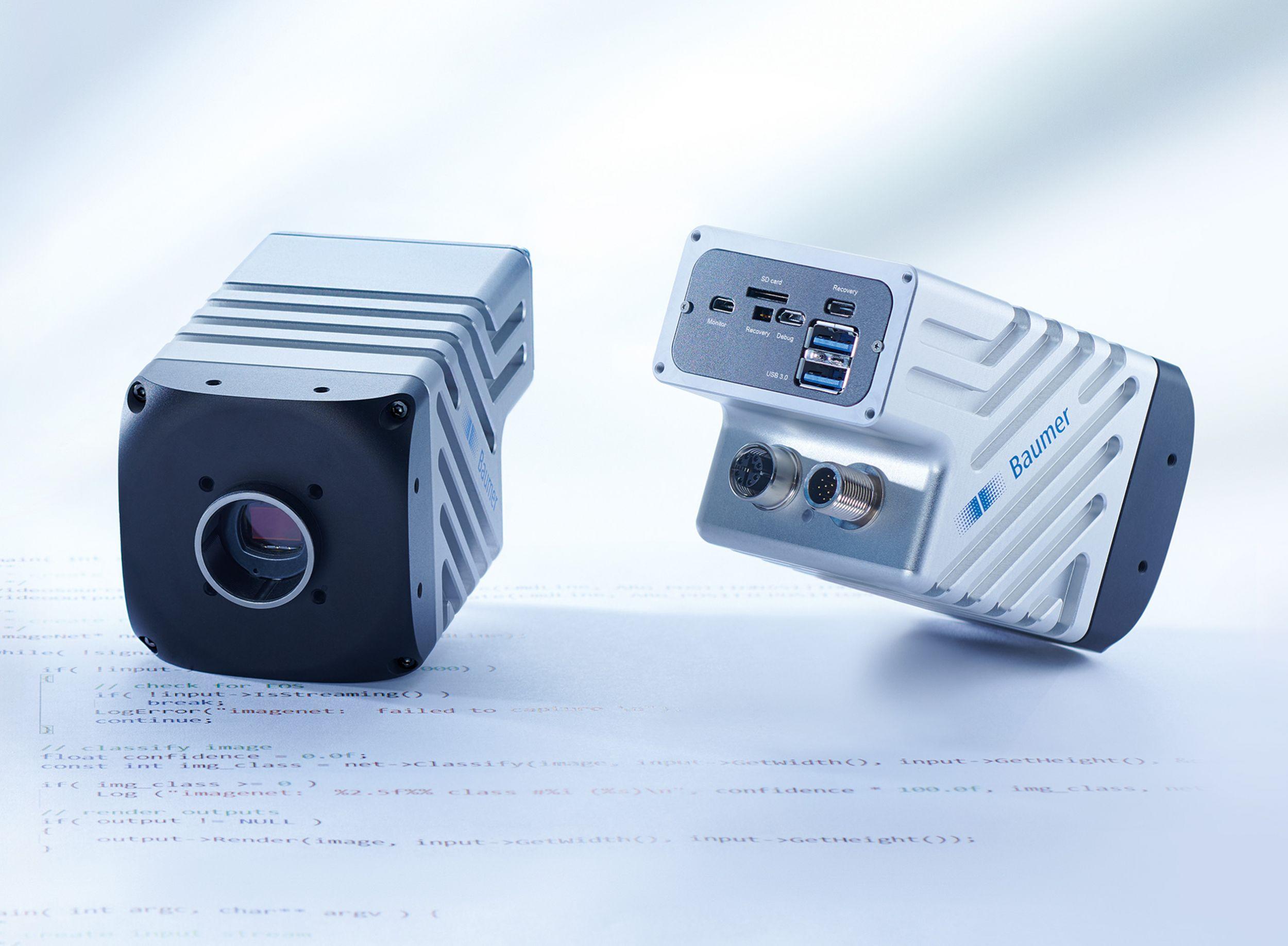 Smarte KI-Kamera für Objekt-Klassifizierungen mit bis zu 300fps