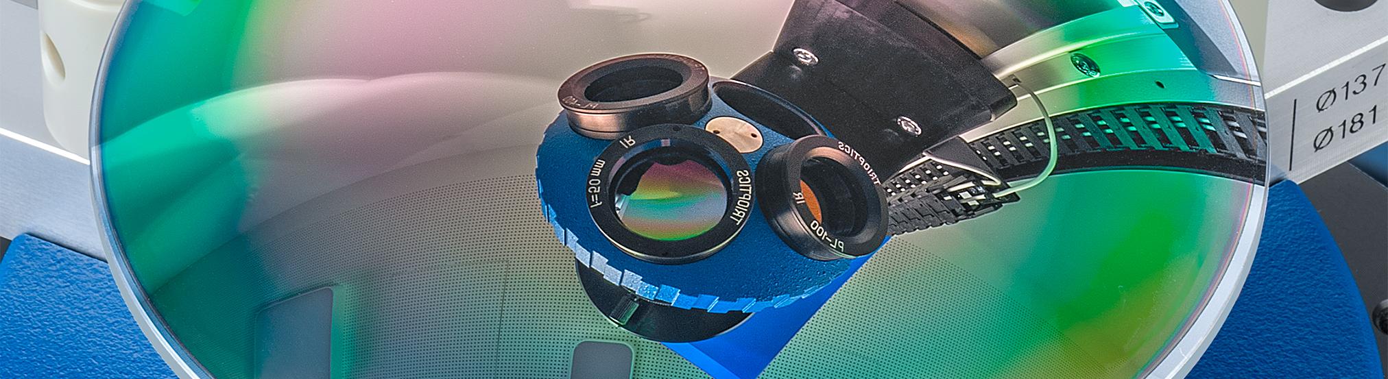 Hohe Genauigkeit bei Zentriermessungen von IR-Objektiven