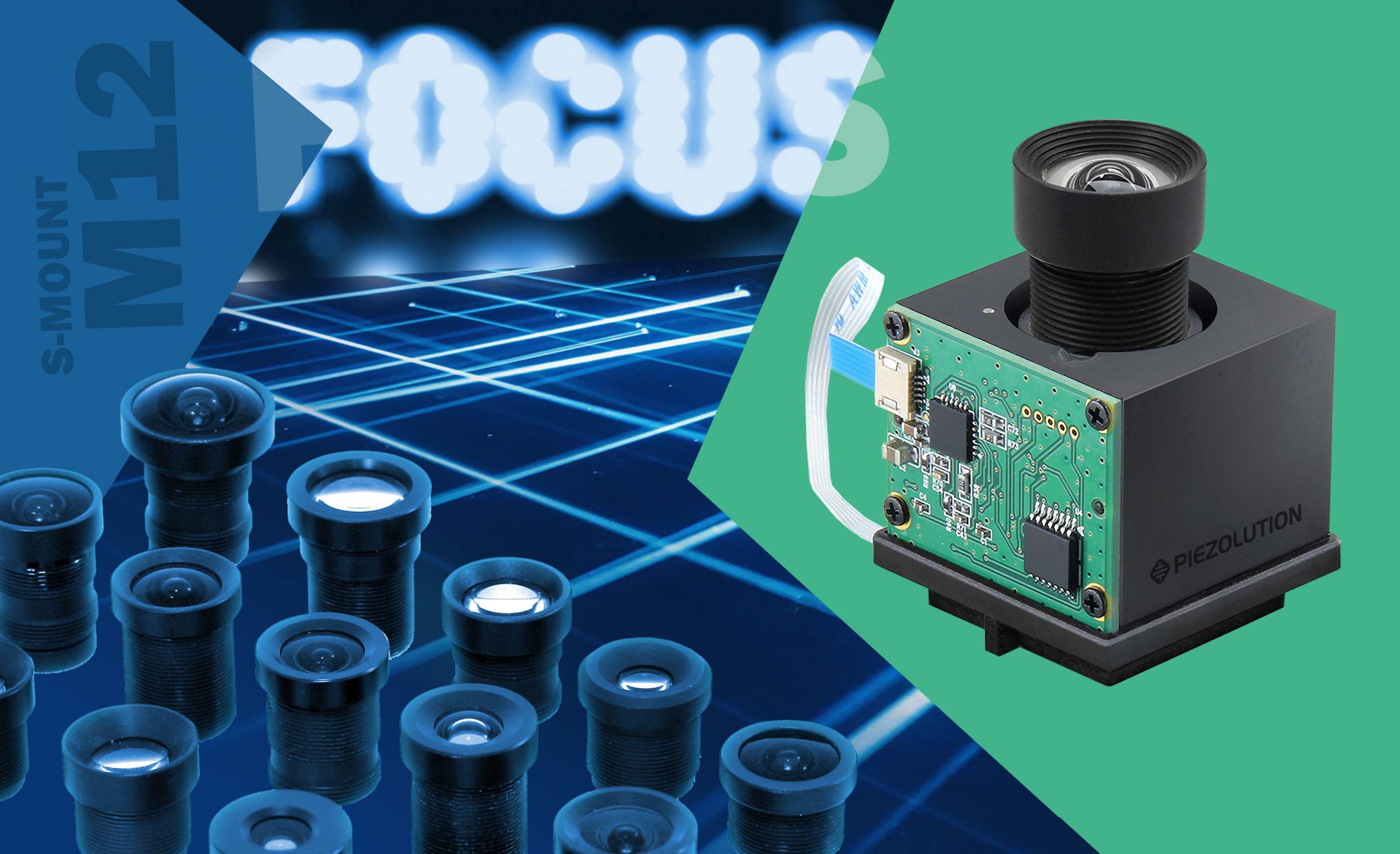 S-mount Optik mit Piezo-betriebenem proaktiven Fokus