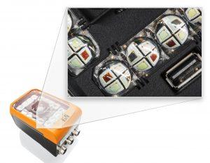 Beleuchtungssystem für extrem genaue Blitzzeitpunkte