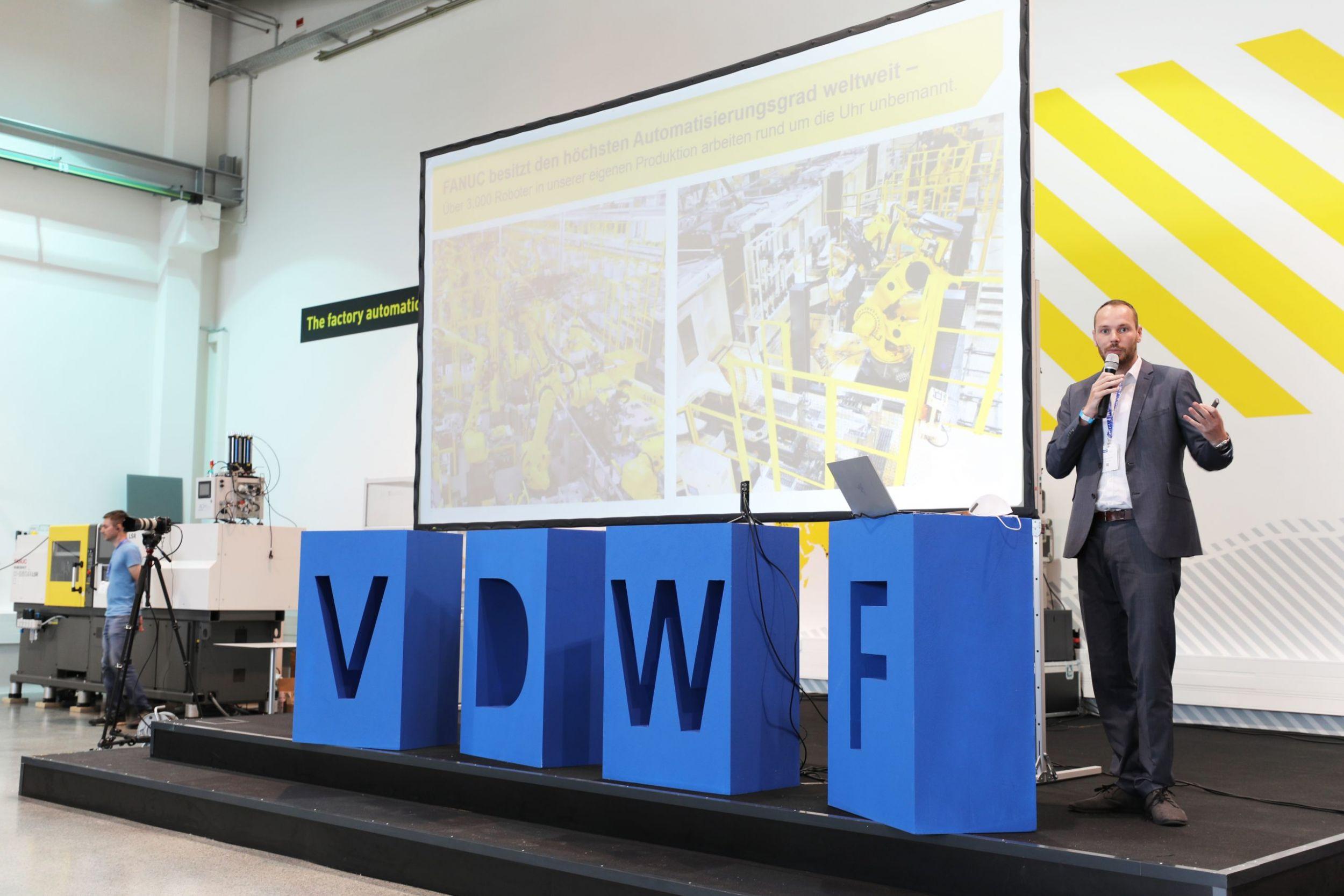 VDWF-Jahreshauptversammlung bei Fanuc
