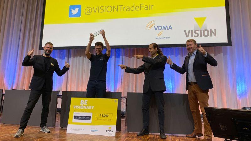Prophesee gewinnt VISION Award 2021