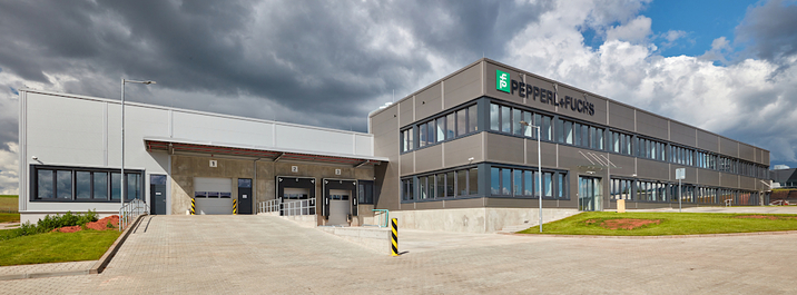 Neubau in Tschechien für Pepperl+Fuchs