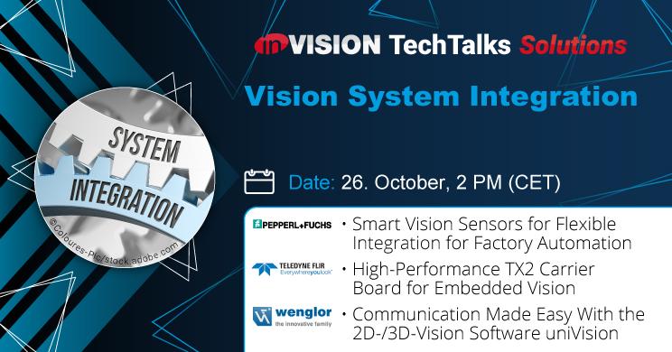 Webinar 'Vision System Integration'