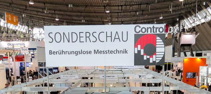 Sonderschau Berührungslose Messtechnik zur Control 2022