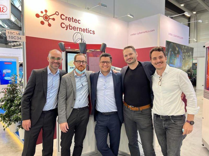 Kooperation Cretec Cybernetics und IT+Robotics